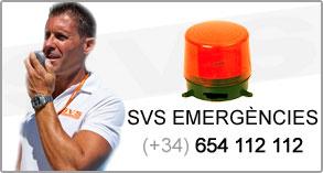 Emergències (+34) 654 112 112